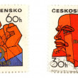 Communism concepts from Czechoslovakia — Stock Photo