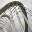 Stock Photo: Footbridge