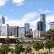 Stock Photo: Melbourne skyline