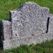Old empty gravestone - Stock Photo