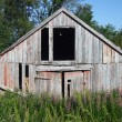Old ruined wooden building — Stock Photo