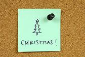 办公室圣诞 — 图库照片