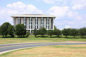 National Library of Australia - important building in Canberra — Stock Photo