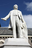 Bílá socha — Stock fotografie