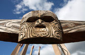 Maori tribal art — Stock Photo
