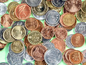 World currency coins — Stock Photo