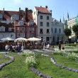 Main square in Riga (Latvia) — Stock Photo