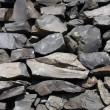 Basalt stone texture - Stock Photo