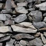 basalt stenen textuur — Stockfoto