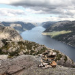 Stock Photo: Norway - Lysefjorden