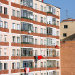 Foto Stock: Modern apartment building