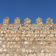 Fortified wall - Stock Photo