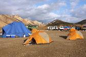 冰岛-landmannalaugar — 图库照片