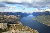 Lysefjorden — Stock Photo