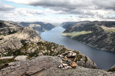 Norway - Lysefjorden — Stock Photo