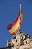 西班牙国旗 — 图库照片