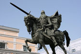 El Cid - Spanish hero — Stock Photo