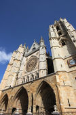 Cathedral in Leon — 图库照片