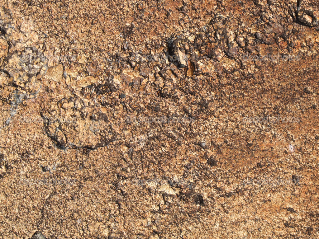 Brown rock background texture. Geology abstract stone pattern. — Stock Photo #4540131