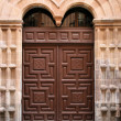 Convent door — Stock Photo