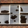 Broken window — Foto de Stock