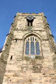 West Gate. Warwick town in Warwickshire - West Midlands, England. — Stock Photo