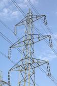 Electricity pylon — Stockfoto