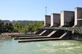 Hydro power plant — Stock Photo