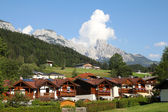 Alpine town — Stock Photo