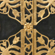 Ornamented door — Stock Photo #4599664