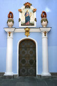 Monastery door — Stock Photo