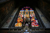 Stained glass art — Stock Photo