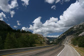Scenic highway in Canada — Stock Photo