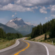 Mountain road in Canada — Stock Photo
