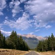 Stock Photo: CanadiRockies cloudscape