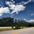Icefields Parkway in Canada — Stock Photo