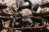 Rusty car parts — Stock Photo