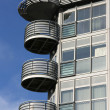Modern architecture balcony — Stock Photo #4627601