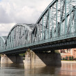 Stock Photo: Truss bridge