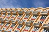 Edificio de apartamentos en inglaterra — Foto de Stock