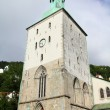Bergen cathedral - Stock Photo