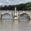 Sant Angelo Bridge, Rome — Stock Photo