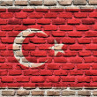 Flag of Turkey — Stock fotografie