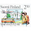 Stock Photo: Finland stamp