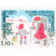 Christmas in Finland — Stock Photo