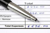 Expenses — Stock Photo