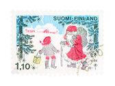Navidad en finlandia — Foto de Stock