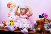 The nice child — Stock Photo