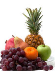 Different fruit on a dish — Stock Photo