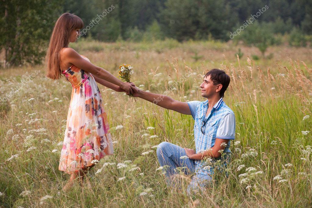 Bouquet pour la petite amie photographie galka225 4552251 for Bouquet de fleurs pour un homme